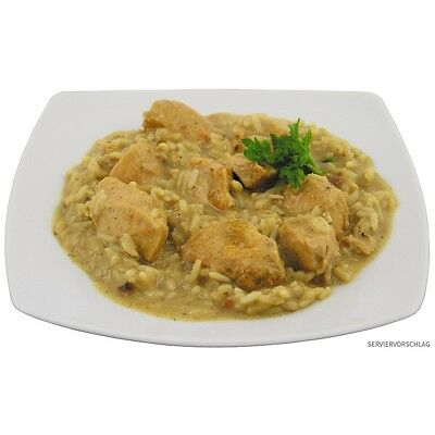 Chicken Curry with rice 400 g Canned Food Ration MRE Proppers Camping Survival