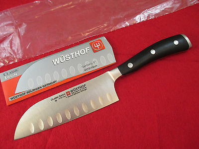 Wusthof Classic Ikon 5 inch Hollow Ground Santoku Knife - 4172/14 - *New