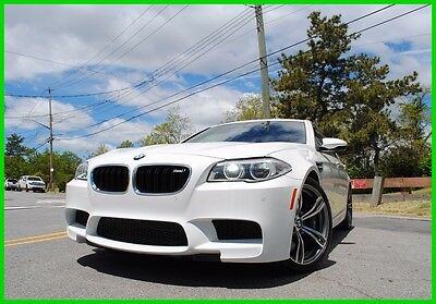 2015 Bmw M5 M5 F10 M-5 Executive Extended Leather Loaded $110K M5 F10 M-5 Executive Package Cold Weather Loaded Like New Rebuilt N0T Salvage