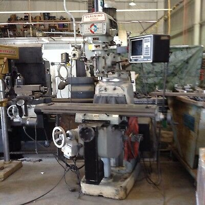 Clausing Kondia FV-1 , 2 axis CNC knee mill with proto trak MX2 controller