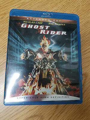 ** Ghost Rider (Blu-ray Disc, 2007, Extended Cut)