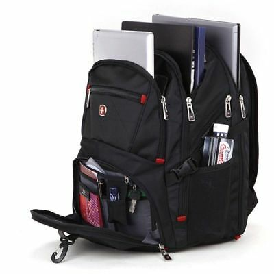 NEW Wenger Swissgear STYLE Laptop Backpack Notebook Bag Rucksack Outdoor 2018 UK