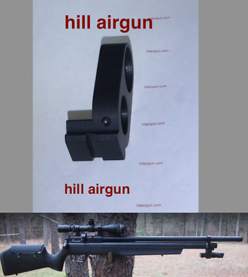 HILL AIRGUN BARREL Band with integrated rail, for your Benjamin Marauder PCP