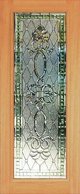 Hand Made Leaded Stained Glass Mahogany Entry Door - Jhl2167 - 49