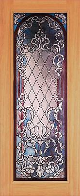 Beautiful Stained Glass Custom Entry Or Interior Door - Jhl163