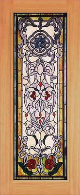 Beautiful Stained Glass Custom Entry Or Interior Door - Jhl162