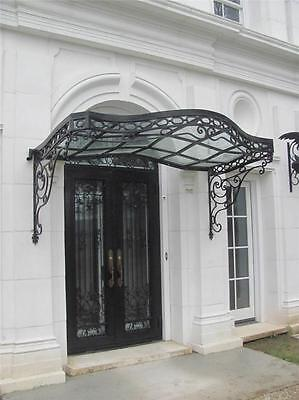 Beautiful Hand Made Iron Victorian Style Estate Entry Doors - Cdct1