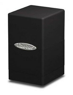 Ultra PRO - Deck-Box Satin Tower - Black/Schwarz - OVP