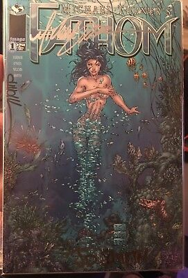 FATHOM 1, 1A, and 1B ALL TRIPLE Signed by MICHAEL TURNER + JD SMITH + DAVID WOHL