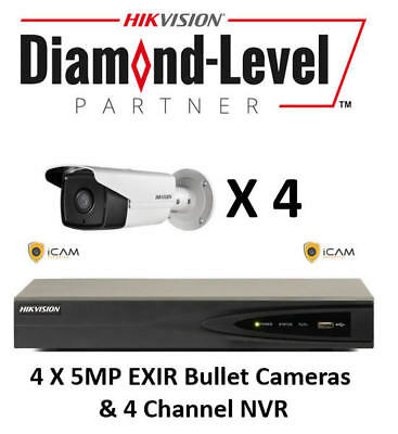 4MP 4CH Hikvision CCTV Kit *AUTHORISED SELLER- ENGLISH VERSION*