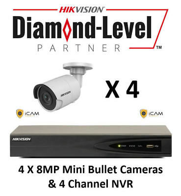 8MP 4CH Hikvision CCTV Kit *AUTHORISED SELLER- ENGLISH VERSION*