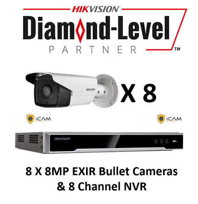 4MP 8CH Hikvision CCTV Kit *AUTHORISED SELLER- ENGLISH VERSION*