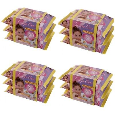 12 Packs of Femicare Feminine Ladies Pocket Pack Wipes - 20 Wipes Per Pack
