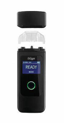 Breathalyser Drager Alcotest 3820 Black Alcohol Test Fuel Cell Professional NEW