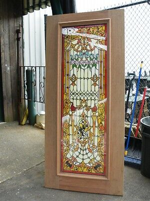 Handmade Stained Glass Tempered Doors - Blow Out Sale Jhl92