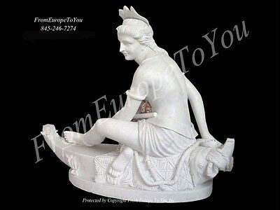 Great Hand Carved Diana The Huntress Marble Statue