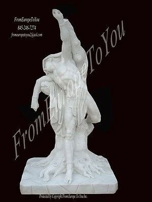 Great Hand Carved Marble Jesus On Tree Statue Js500