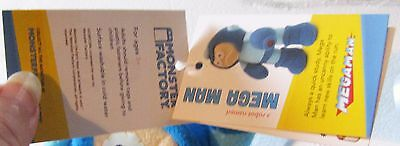 Nerd Block Monster Factory Megaman Plush New with tags