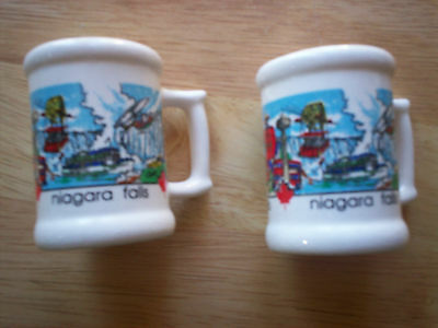 Niagra Falls Souveneir Salt and Pepper Shakers