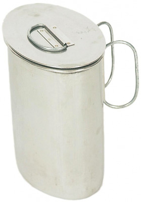 Quart Pot Stainless Steel Saddlery Mustering