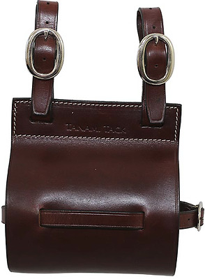 Quart Pot Holder Leather Saddlery Mustering