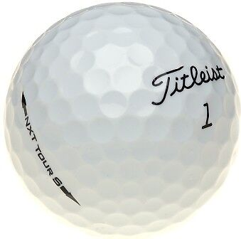 12 Titleist NXT Tour S AAAA/Near Mint Golf Balls *Free Tees!*