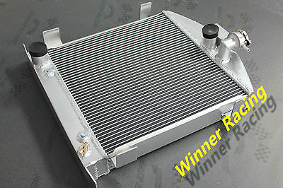 "21.5"" Alloy Radiator Ford Chopped W/Ford 1932 Grill Shell&302 V8 engine 30-39"