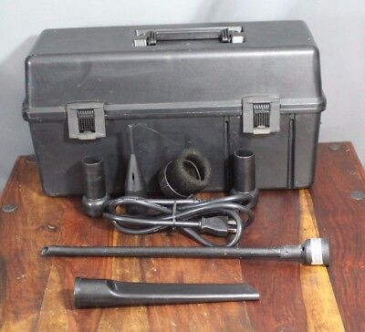 3M Model 497 Electronics Vacuum with Attachments - No Hose - No Filter - Working