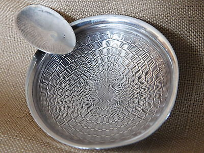 Sterling Silver Footed Personal Ashtray