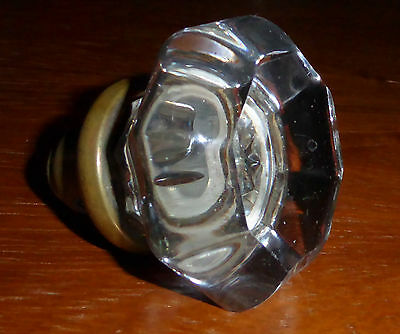 Vintage Large Glass Door Knob