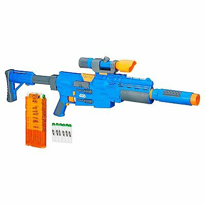 Star Wars Rogue One NERF Captain Cassian Andor Deluxe Blaster Exclusive Roleplay
