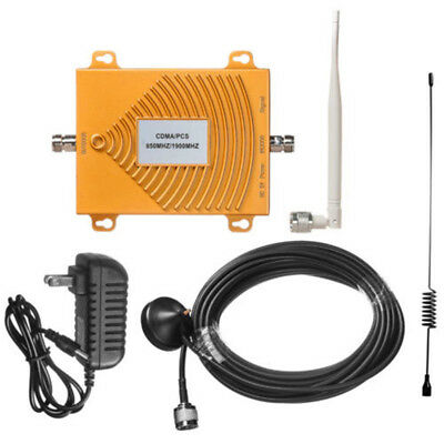 USA! Cellular Signal Booster Cell Phone Dual Band 850/1900MHz CDMA PCS Repeater