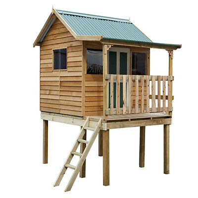 The Shanty Supreme Elevated Cubby House