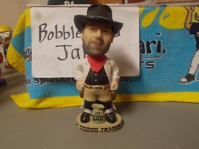 Jesse James 1St National Bank Robbery Bobblehead Agp Northfield Mn Outlaw