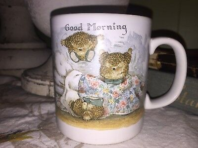 Gordon Fraser  Country Companions  Hedgehog  'GOOD MORNING'  Mug  ADORABLE!!!!!
