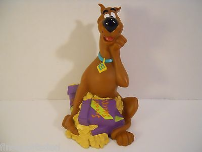 1998 SCOOBY DOO Toy Bank ~ Scooby Snacks ~ Hanna Barbera Applause