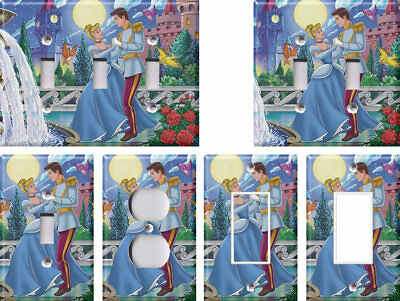 Disney Cinderella 3 - Light Switch Covers Home Decor Outlet
