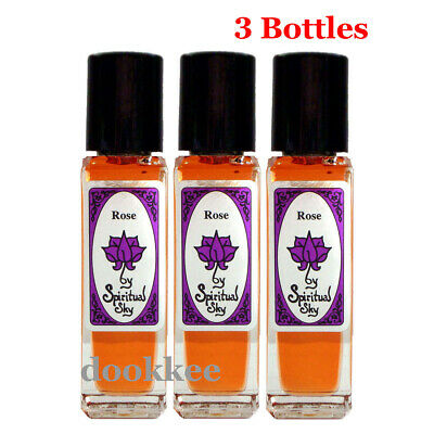 Spiritual Sky Perfume Oil - ROSE x 3 Bottles