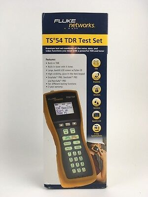 Fluke Networks TS54 TDR Test Set ABN with Piercing Pin TS54-A-09-TDR **NEW**