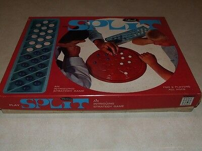 Split an Intriguing Strategy Game Vintage 1966 Boardgame - John Sands