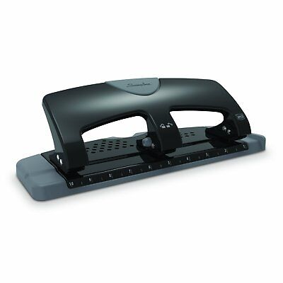 Swingline 3 Hole Punch, Low Force, 20 Sheet Punch Capacity, SmartTouch