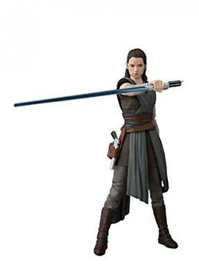 BANDAI S.H.Figuarts Star Wars Rey (The Last Jedi) Action Figure (Completed)