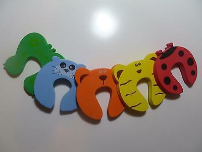 5x Baby Finger Protector Jammers Stop Door stopper lock Pinch Guard Kid Safety (