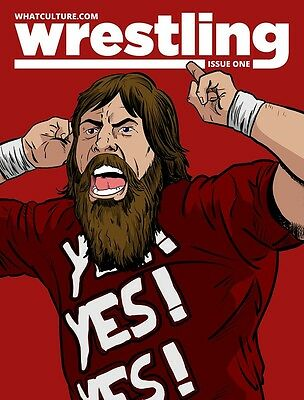 What Culture Wrestling Magazine Issue 1 - Daniel Bryan WWE Articles WCPW