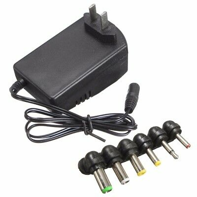 Universal 3,4.5,6,7.5,9,12V 30W Power Supply AC DC Wall Charger Adapter US Plug