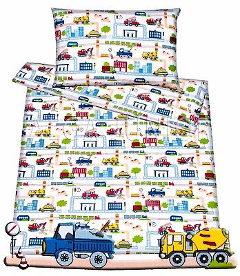 Nursery bedding set /spare duvet cover pillowcase 100%cotton 4 cot baby  toddler