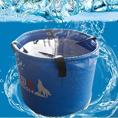 10L Portable Foldable Water Bucket Outdoor Water Wash Bucket Travel Bags Pots