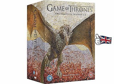 1-NEW Game Of Thrones Season 1-6 Complete 1 2 3 4 5 6 Brand New  Sealed Fast P&P