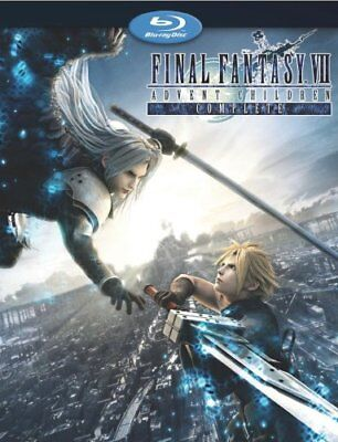 Final Fantasy 7 VII Advent Children Complete Full Movie Animation BluRay HD Disc