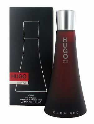 Hugo Boss Hugo Deep Red 90ml Eau de Parfum Spray for Women - New